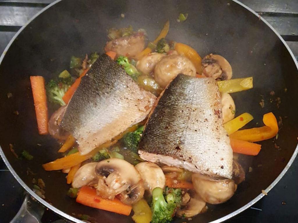 Keta-Salmon-and-Honey-Soy-Glaze
